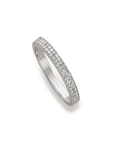 Miss Silver Cubic Ring
