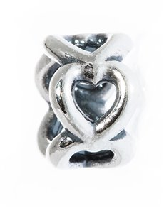 Branded - All Branded Jewellery: Pandora Silver Hearts Charm!
