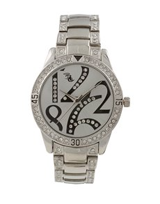 Watches: Bad Girl Jinx Silver Watch!