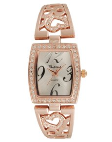 Watches: Bad Girl Cupid Rosegold Watch!