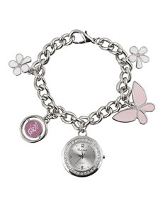 Watches: Bad Girl Charm Silver Watch !