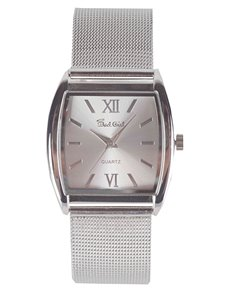 Watches: Bad Gril Mesh Silver Watch !