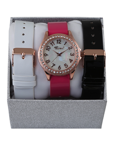 Watches: Bad Girl Flaunt Interchangeable Strap Set!