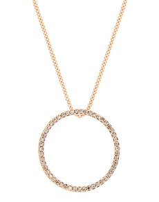 Picture of 9kt Rose Gold Circle Of Life Necklace!