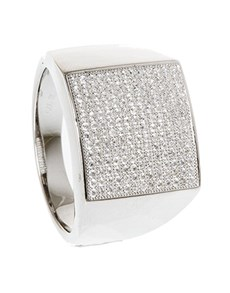 Rings: Silver Cubic Gents Ring!