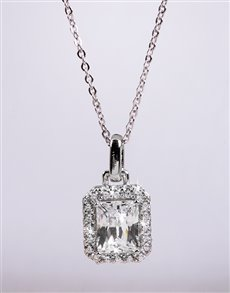 Picture of Silver Cubic Necklace!