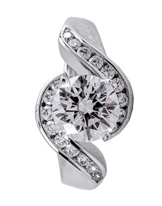 Rings - All Rings: Silver Cubic Zirconia Ring!
