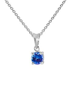 Picture of Sterling Silver Tanzanite Pendant 0.50ct!