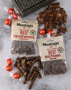 Picture of Gift Box of Biltong and Chocs!