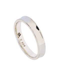 Sterling Silver Fancy wedding band