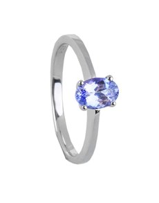 Rings - All Rings: Sterling Silver Solitaire Ring 1.00ct!