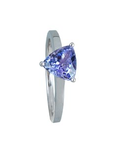 Rings - All Rings: Sterling Silver Solitaire Ring 1.25ct!