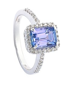 Rings - All Rings: Sterling Silver Tanzanite Ring 1.00ct!