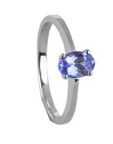 Rings - All Rings: Sterling Silver Tanzanite Ring  !